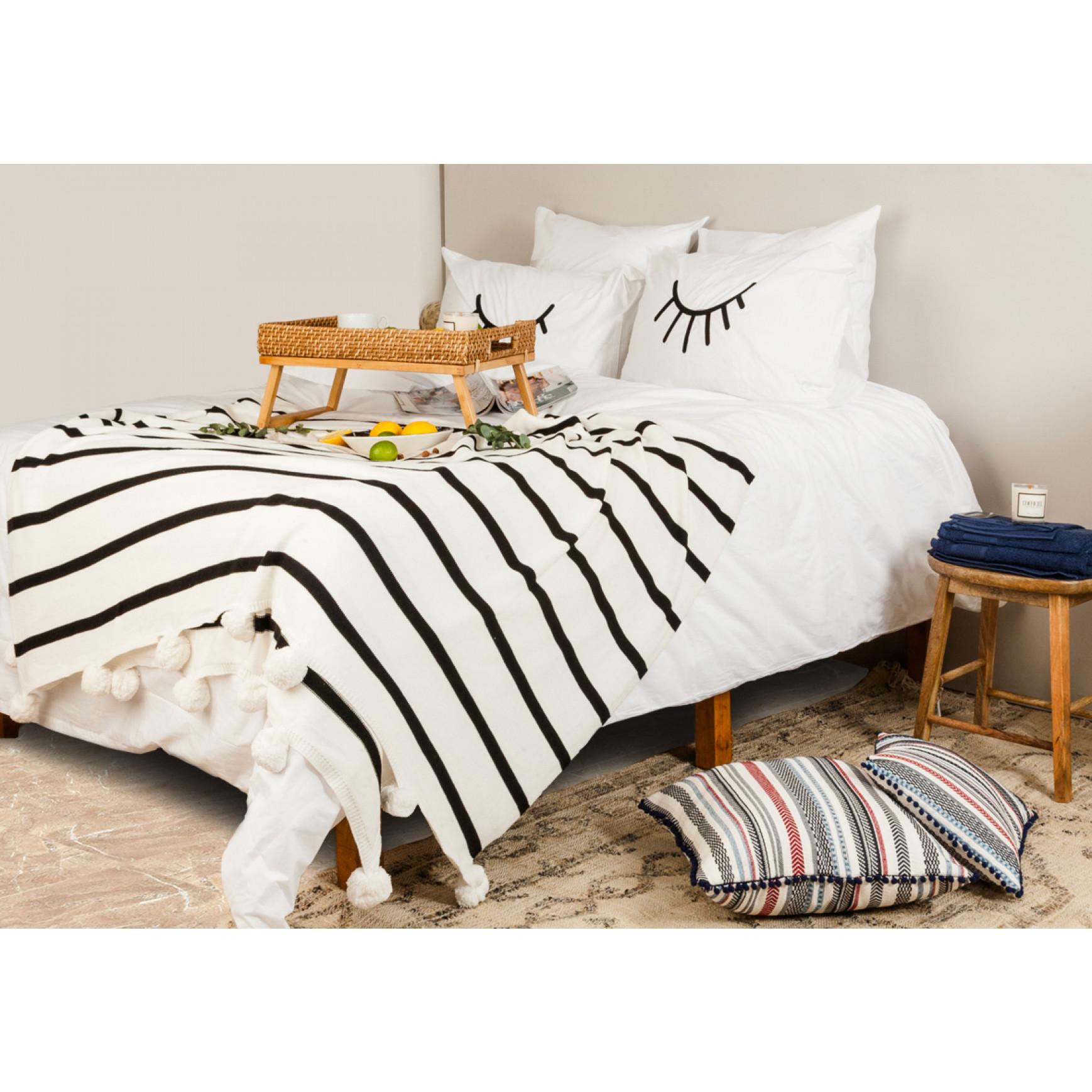 Bettbezug Les Essentiels Percal   Weiß-240x220cm