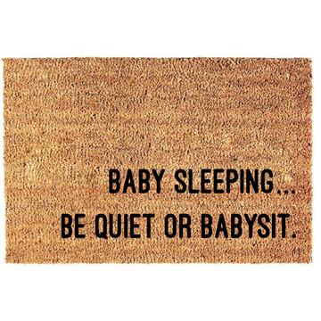 Fußmatte | Babysitten