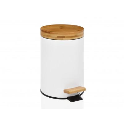 Bin 3L | White/Bamboo