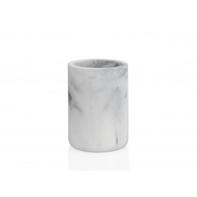 Toothbrush Holder | White Marble Effect