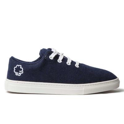 Sneakers Wool | Dark Blue