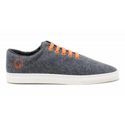 Sneakers Wool | Orange