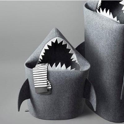 Baby Shark gray (white teeth)
