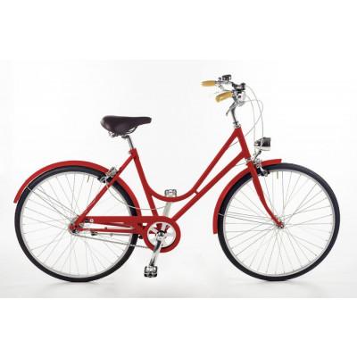 Bike Bacio 3 Speed Donna | Red
