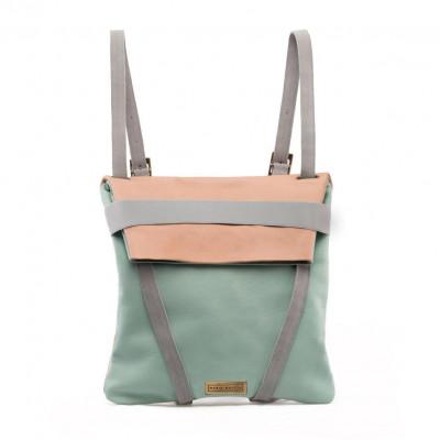 A&O Backpack   Pink & Blue