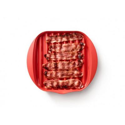Mikrowellen-Speckkocher | Rot