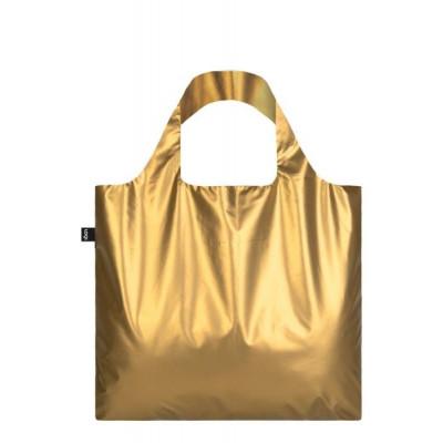 Bag/Shopper Metallic | Matt Gold