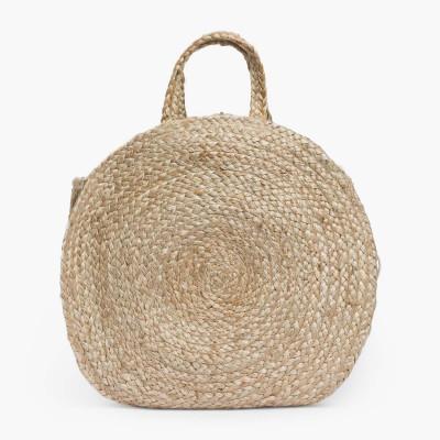Runde Handtasche Ural Dia. 40   Natural