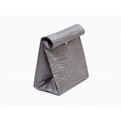 Lunch Bag   Grey Velvet