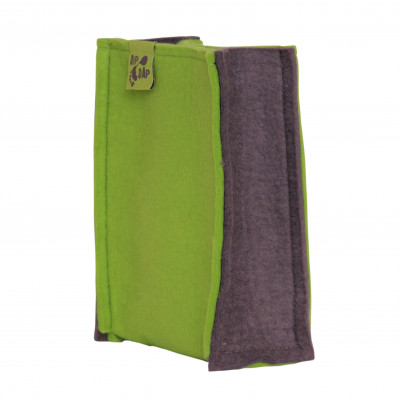 Felt Bag   Green-Grey