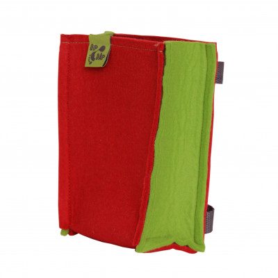 Felt Bag   Red-Green