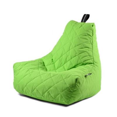 Outdoor Sitzsack Mighty B Gesteppt   Lindgrün