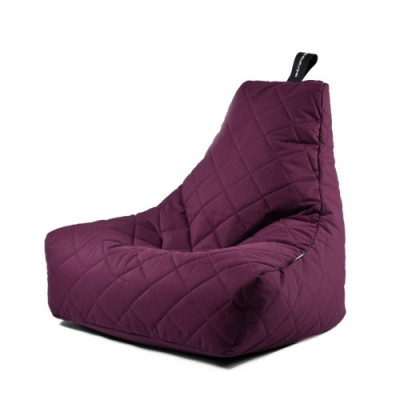 Outdoor Sitzsack Mighty B Gesteppt   Violett
