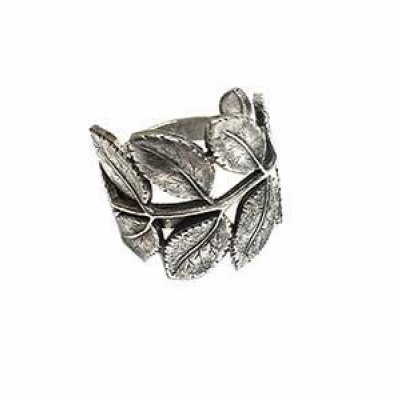 Ring Feather   Silver