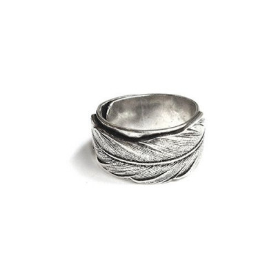 Ring Fine Feather   Silver