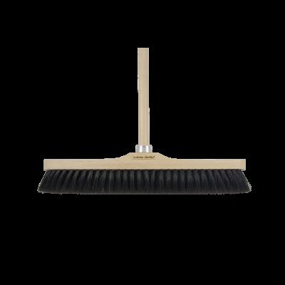 Besen ohne Stiel Tradition | 43 cm | Schwarz
