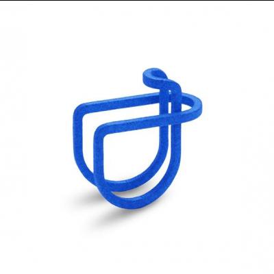 Ausgeglichener Ring #1 | Blau