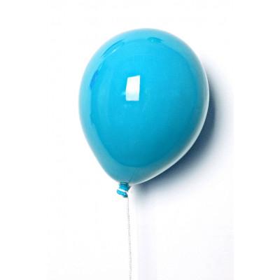 Keramik-Ballon | Azurblau