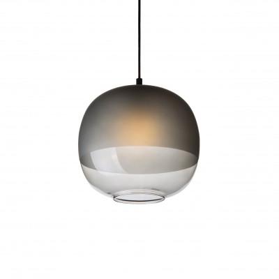 Bale Pendant Lamp | Smoked Glass
