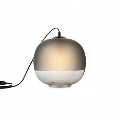 Bale Table Lamp | Smoked Glass