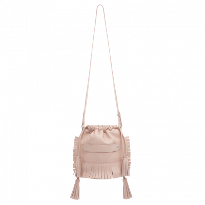Bali Mini Bucket | Nude Pink