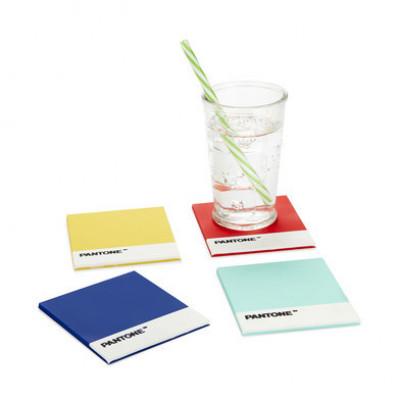 Untersetzer Pantone 4er-Set | Verschiedene Farben