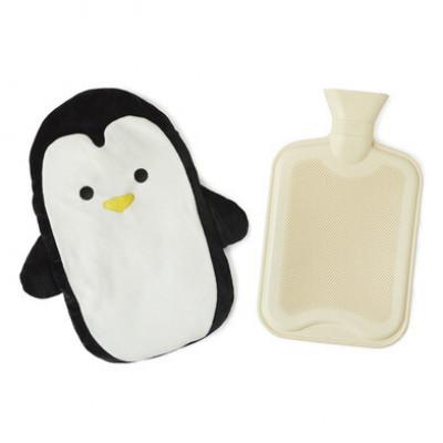 Wärmflasche Pingu   Schwarz