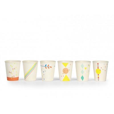 Set of 6 Cups   Print