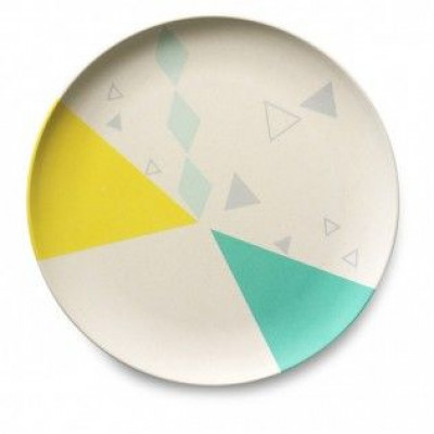 Bamboo Children's Plate   Checked
