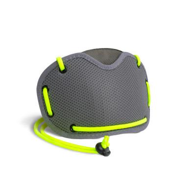 Verschmutzungsmaske | Grau & Gelb