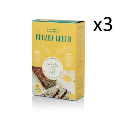 Bananenbrot 295 g 3er-Set | Datteln