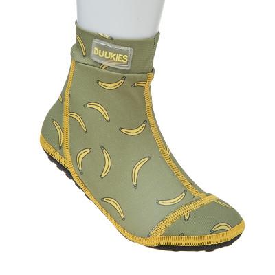 Strandsocken Bananen | Grün/Gelb