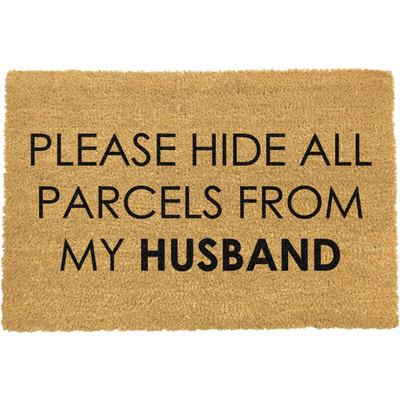 Fußmatte   Please Hide all Parcels from Husband