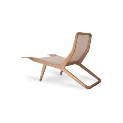 Outdoor-Sessel Barca | Helles Holz