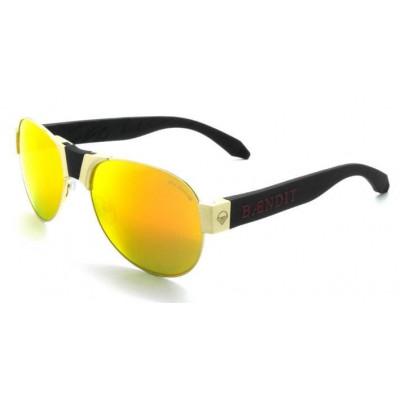 Red Baron Sonnenbrille | Goldfassung & Goldscheibe