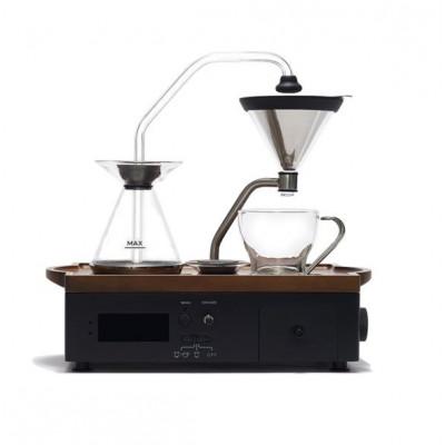 Tee- oder Kaffeebrühwecker | Schwarz