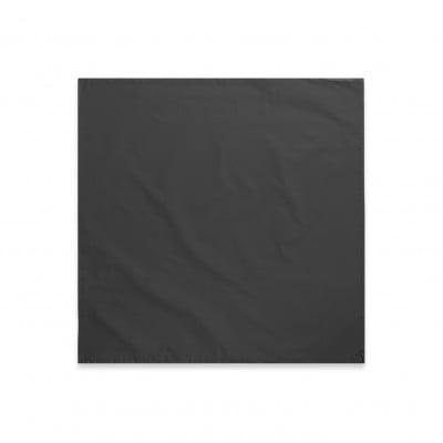 Kissenbezug 2er-Set Les Essentiels Percal | Dunkelgrau