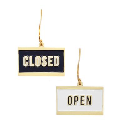 Ohrringe | Open + Closed