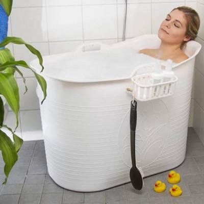 Kompakter Badeeimer | Weiß