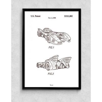 Print   Batmobile