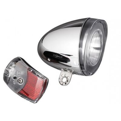 Retro-Batterielampen-Set