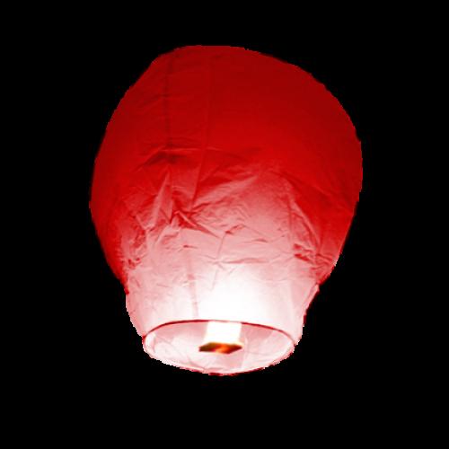 Skylantern Rot 10er-Set