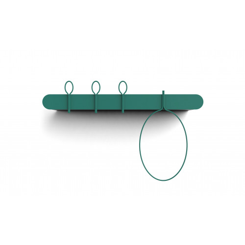 Coat Hanger Balloon | 90 cm Type B - Salvia