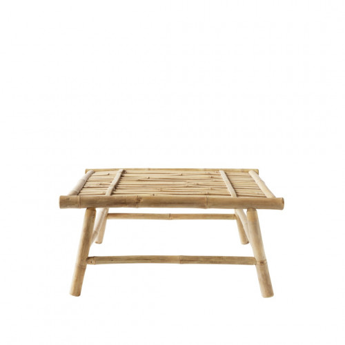Bamboo Lounge Table Slow | 70 x 70