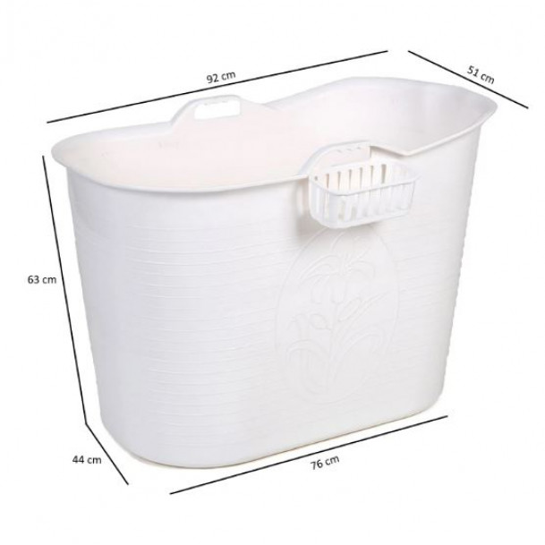 Baignoire Mobile Bath Bucket | Noir