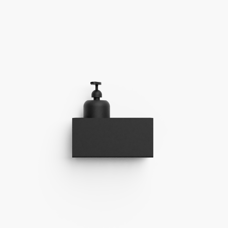 Étagère de Rangement Bath Shelf 20 cm | Noir