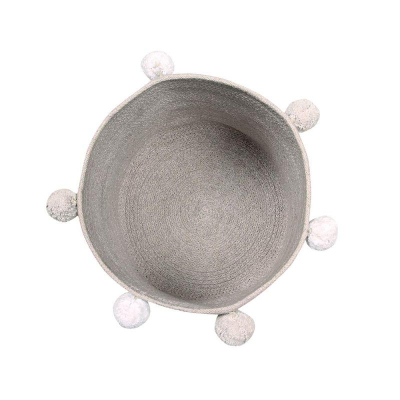 Korb Bubbly Grau