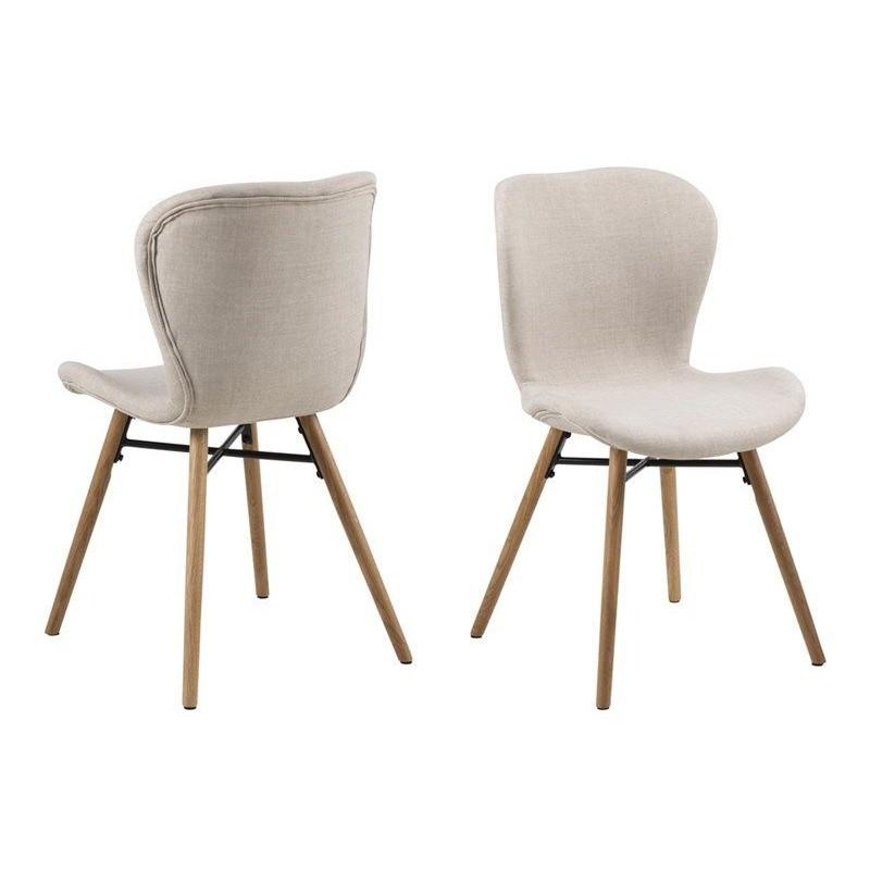 2-er Set Stühle Matilda-A1 | Sand & Holz