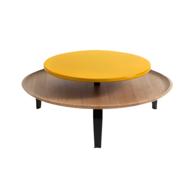 Coffee Table | Oak Wood/Yellow