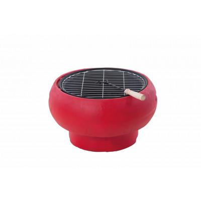 Tragbarer Grill TUB | Rot
